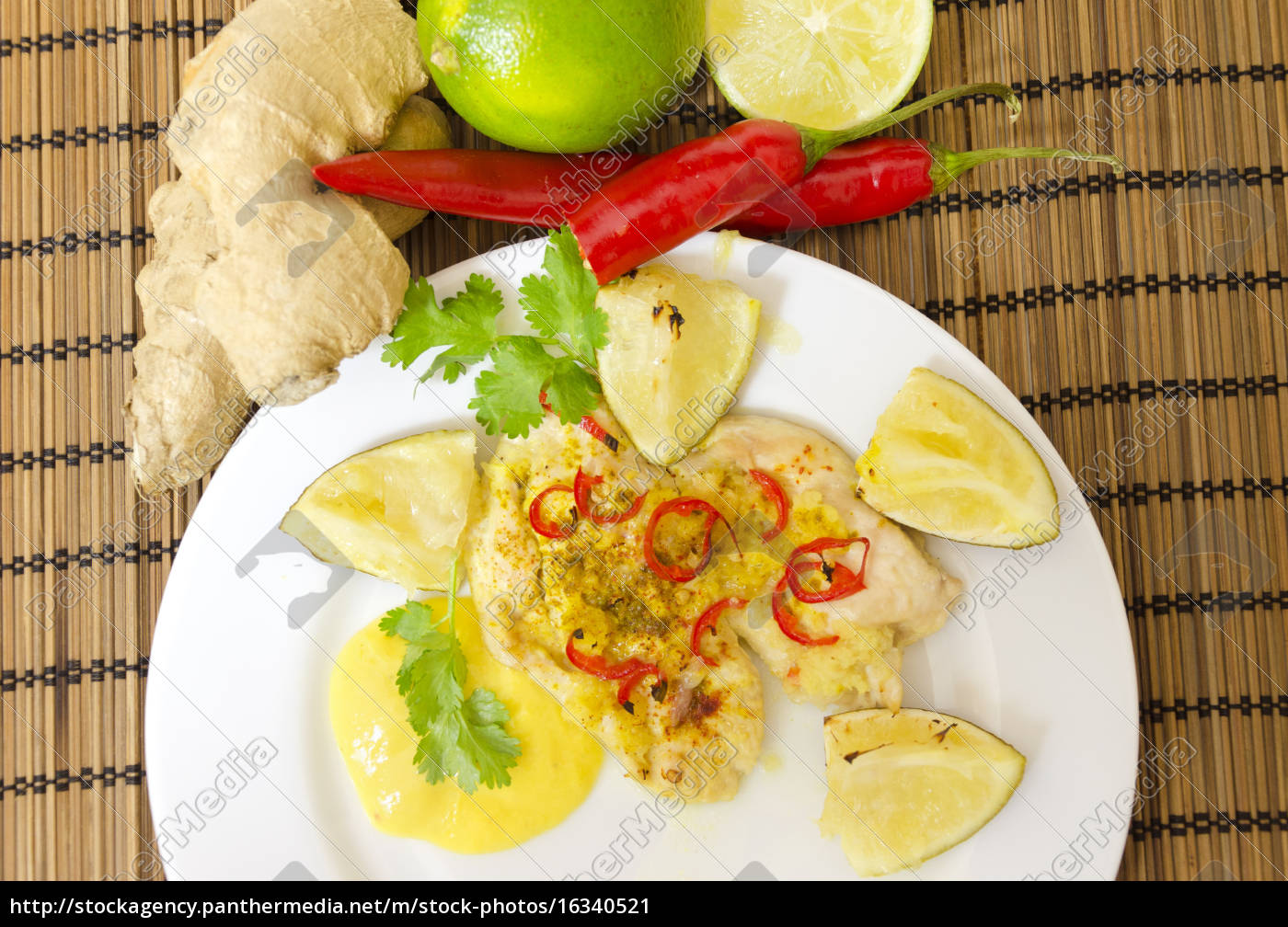 lime, chili, chicken - 16340521