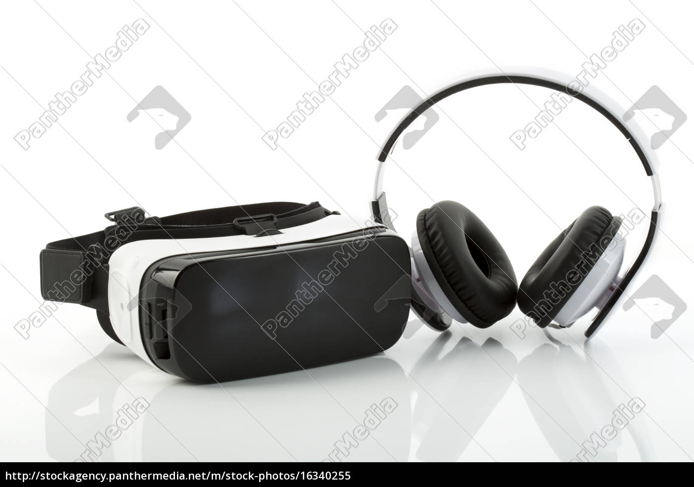 virtual, reality, glasses, and, headphones - 16340255