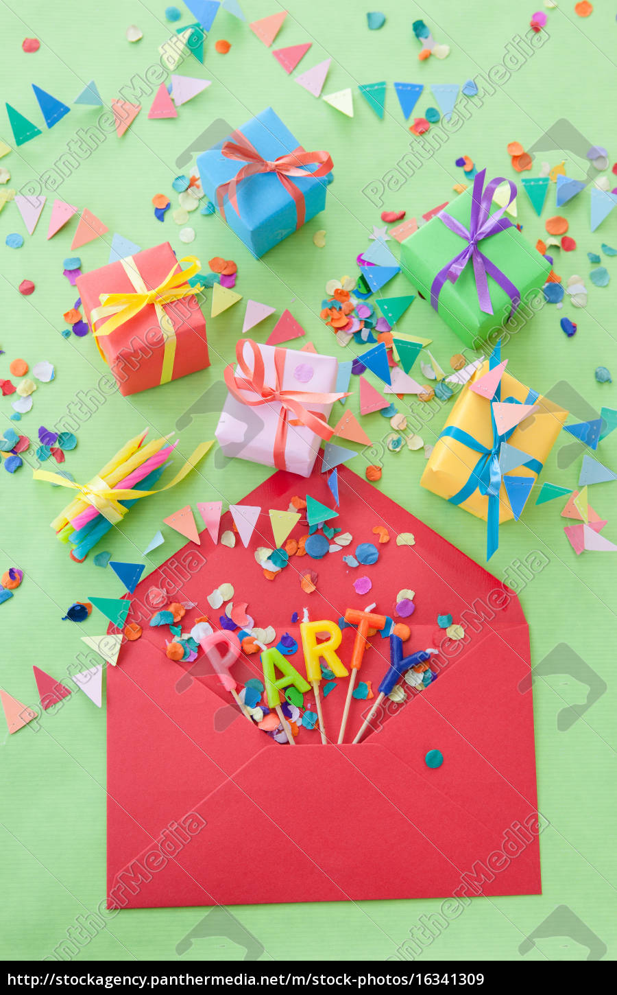 small, colorful, gifts - 16341309