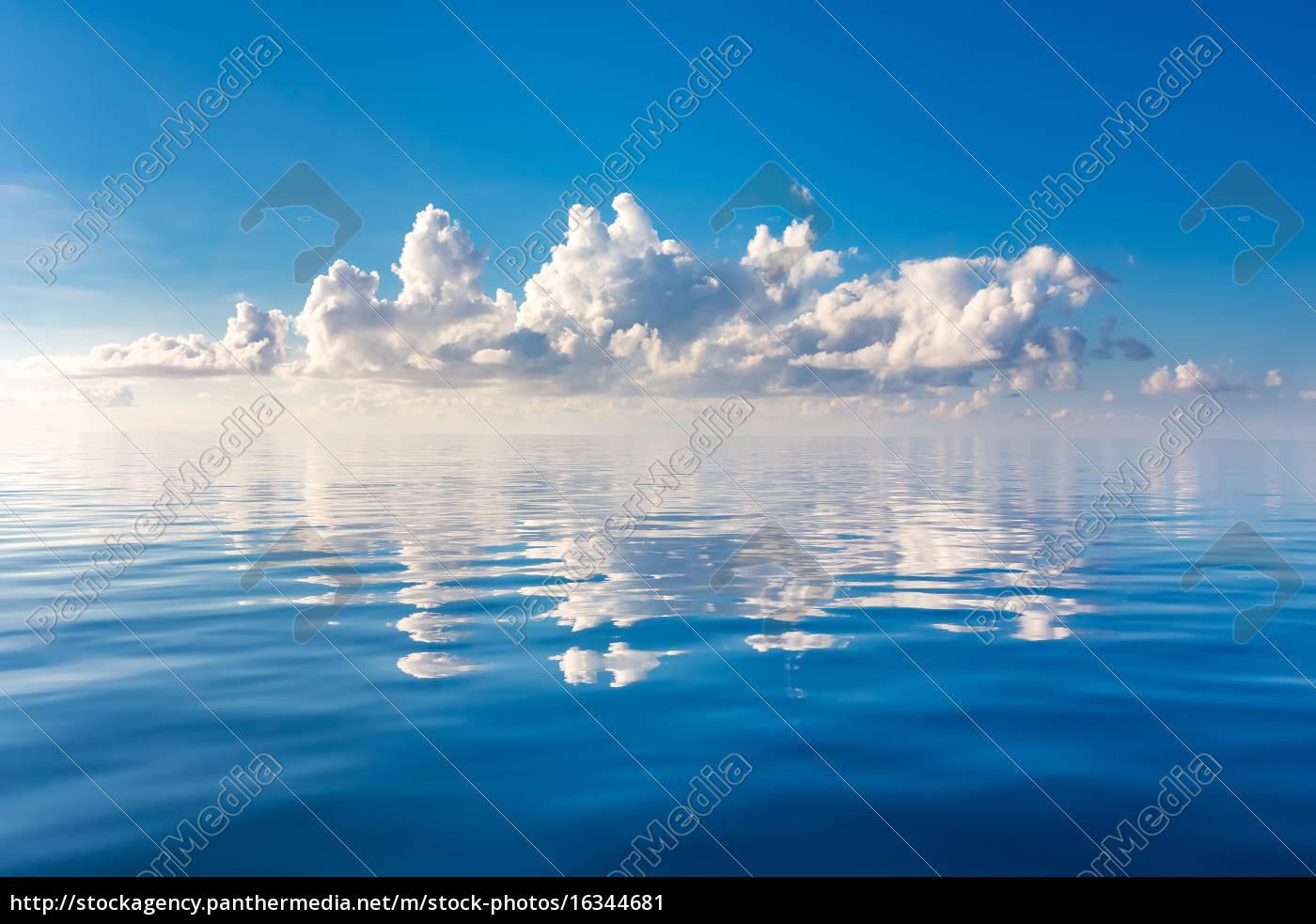beautiful, cloud, over, ocean - 16344681