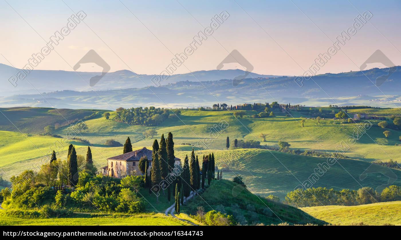 tuscany, at, spring - 16344743