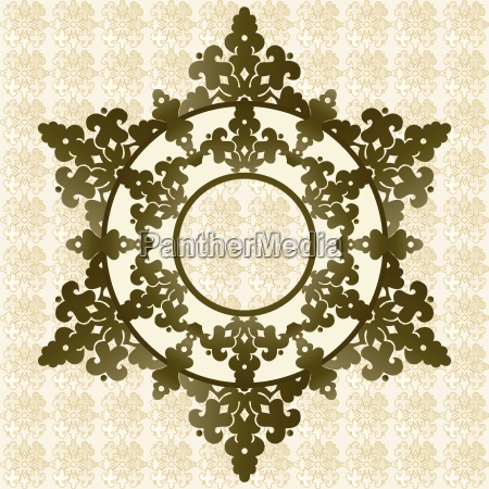 antique, ottoman, turkish, pattern, vector, design - 16345843