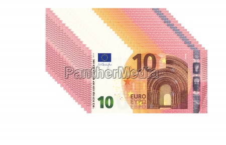 stack of ten euro notes