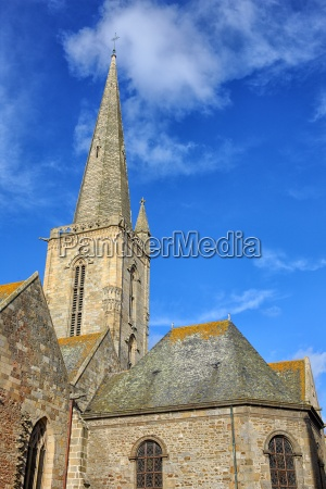 france brittany saint malo cathedral of