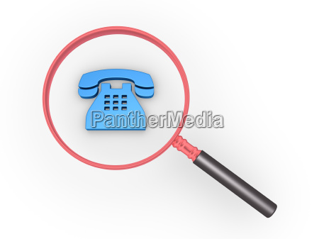 phone, call, magnifier - 16347293
