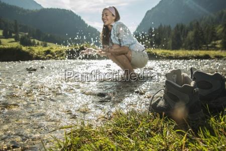 austria tyrol tannheimer tal young female