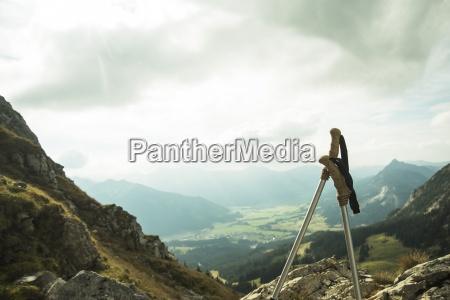 austria tyrol tannheimer tal hiking poles