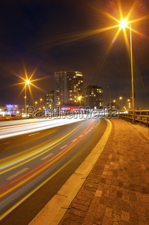 south africa cape town light trails