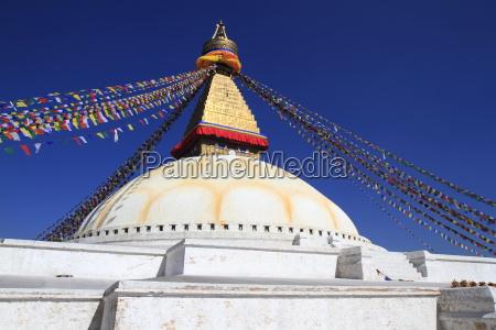 boudhanath in kathmandu nepal