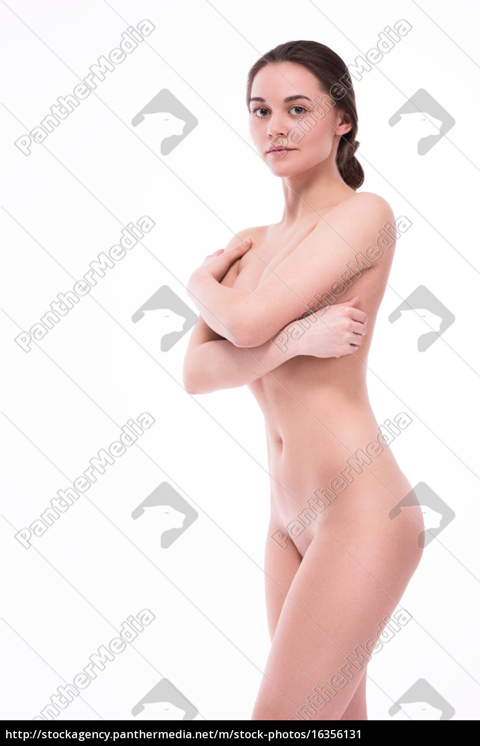 nude, with, a, smile, looking, at - 16356131