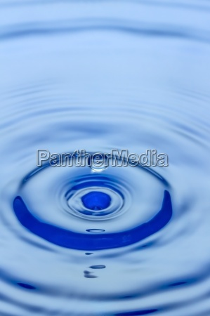 waterdrop splashing on water surface