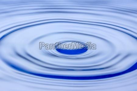 waterdrop splashing in water