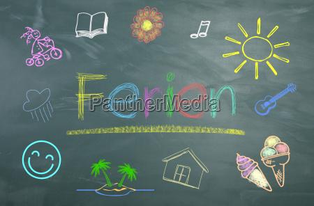 chalkboard, holiday - 16358455