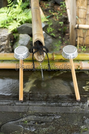 japan tokyo shinjuku buddhist cleaning ceremony