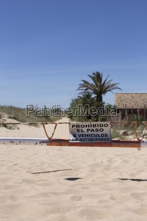 spain andalusia tarifa beach dune and