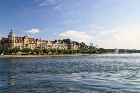 germany baden wurttenberg constance view of