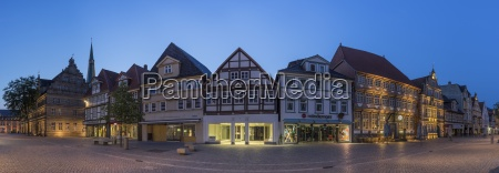 germany lower saxony hameln old town