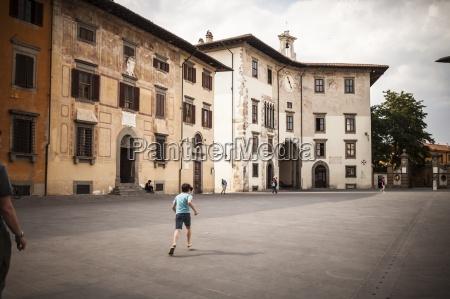 italy tuscany pisa knights square boy