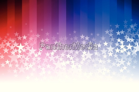 blue, and, red, star, background - 16398742