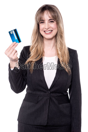 business woman holding up her cash