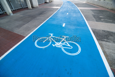point of view for cyclist on