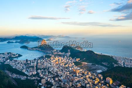 rio de janeiro panoramic view from