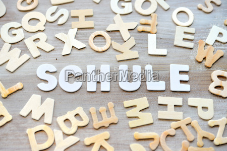learn wood letters school language course