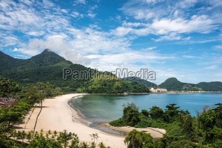 beach near angra nuclear power plant