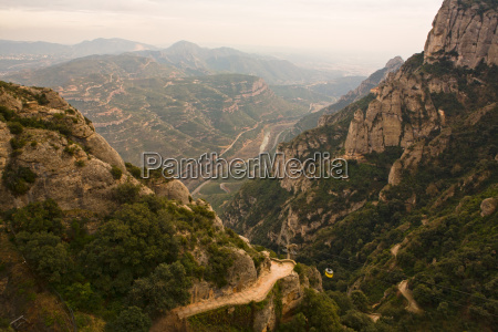 cable car to montserrat monastery