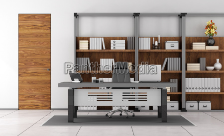 contemporary small office