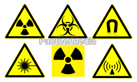 hazard signs set 1