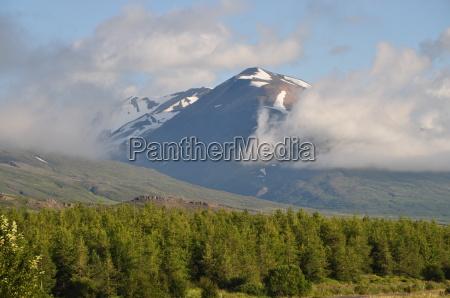 mountain near egilsstadir iceland