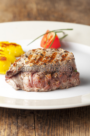 saftiges steak vom grill