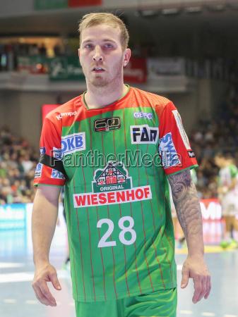 austrian handball player robert weber sc