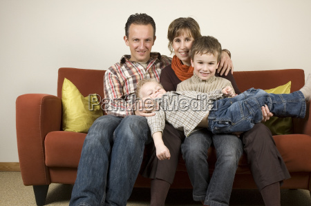 family on a couch 5