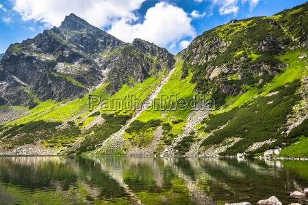 beautiful landscape of black ridge pond