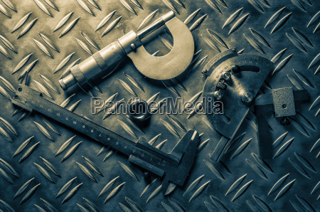older engineering measuring instruments