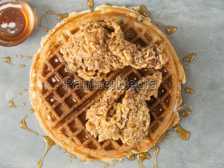 rustic southern american comfort food chicken