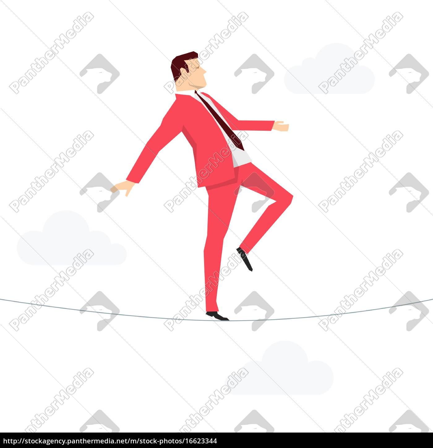 red, suit, businessman. - 16623344