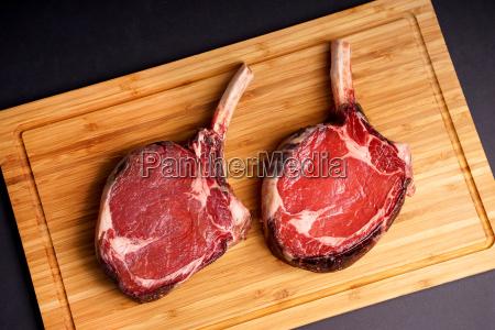 delicious tomahawk steak