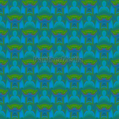 abstract geometric seamless background ornate ellipses