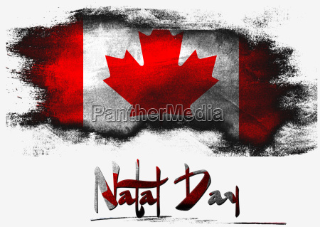 flag of canada for natal day