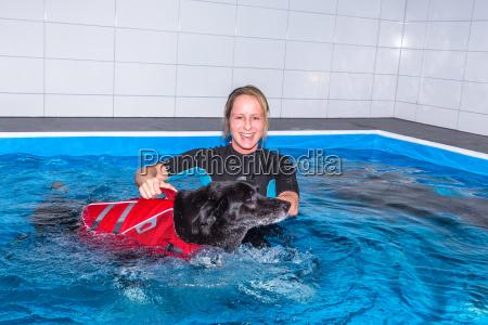 therapeutic swimming
