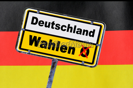 elections in germany in germany