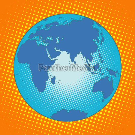 earth eurasia africa australia antarctica asia
