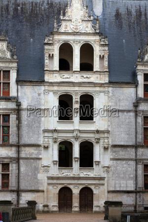 azay le rideau castle in the