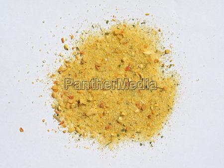salt and vegetable condiment
