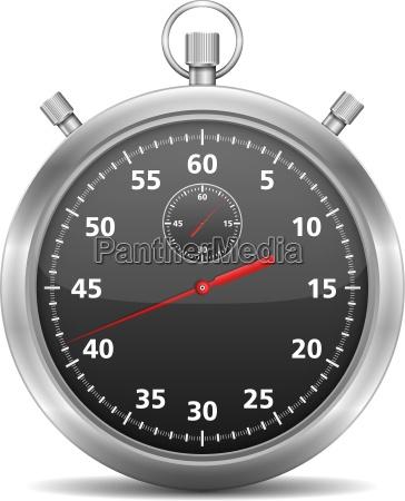 black stopwatch
