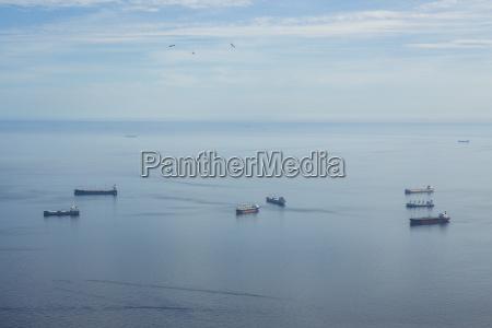 gibraltar cargo ships roadstead
