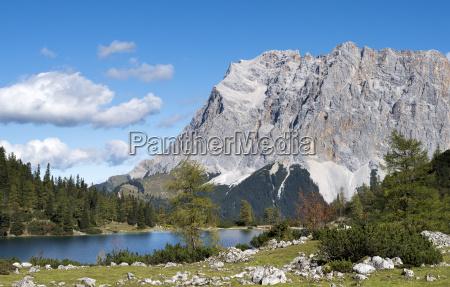 austria tyrol ehrwald seebensee